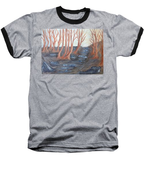 Old Road Through The Trees Baseball T-Shirt