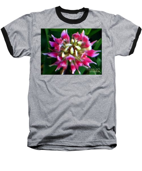 Old Rose Explosive Wildflower Baseball T-Shirt