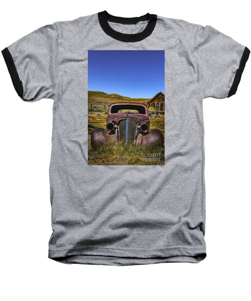 Baseball T-Shirt featuring the photograph Old Rusty by Mitch Shindelbower