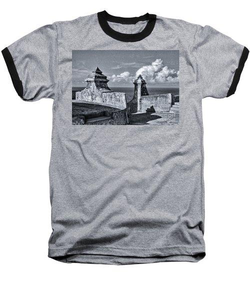 Old San Jaun Fort Baseball T-Shirt