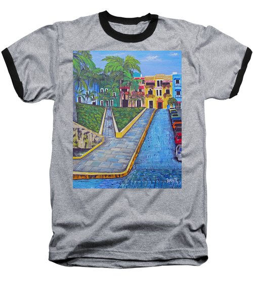 Old San Juan Baseball T-Shirt