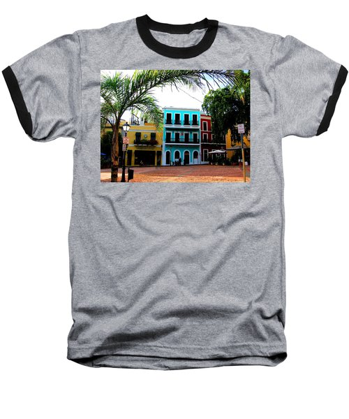 Old San Juan Pr Baseball T-Shirt