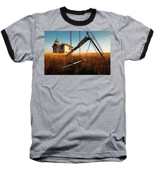 Old Savoy Schoolhouse Baseball T-Shirt