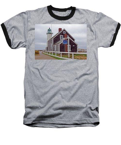 Old Scituate Lighthouse Baseball T-Shirt