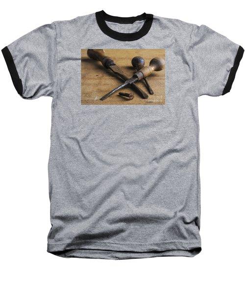 Old Screwdrivers Baseball T-Shirt by Trevor Chriss