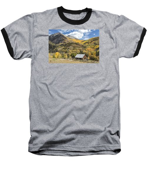Old Shack And Equipment Baseball T-Shirt