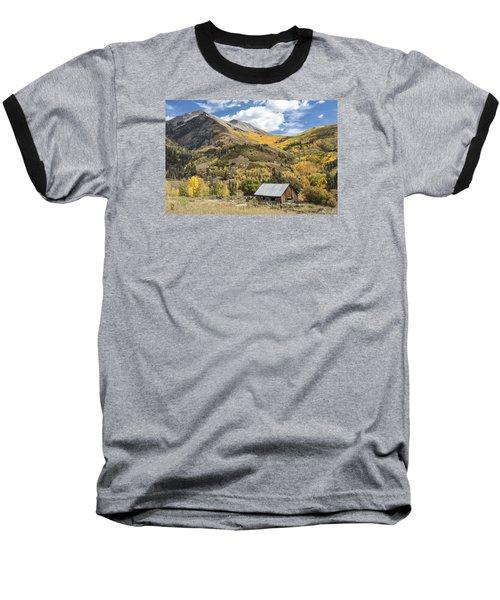Old Shack And Equipment Baseball T-Shirt
