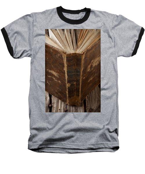 Old Shakespeare Book Baseball T-Shirt