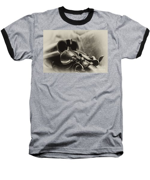 Old Shotgun Baseball T-Shirt