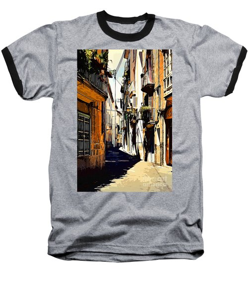 Old Spanish Street Baseball T-Shirt