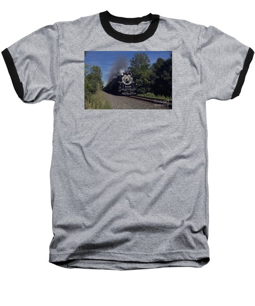 Baseball T-Shirt featuring the photograph Old Steamer 765 by Jim Lepard