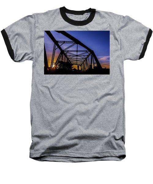 Old Steel Bridge Baseball T-Shirt