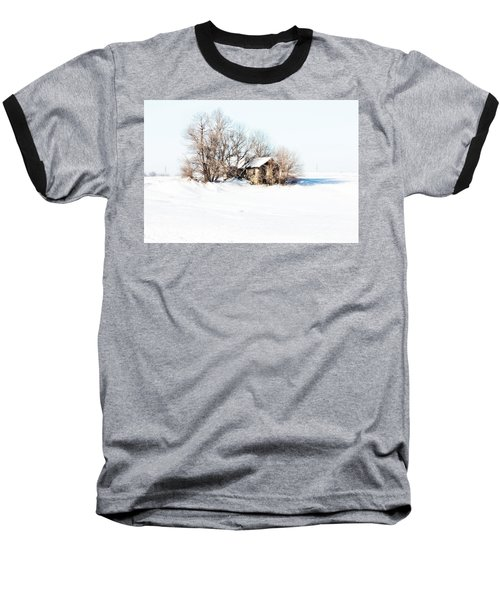 Old  Stone House Milford Baseball T-Shirt by Julie Hamilton