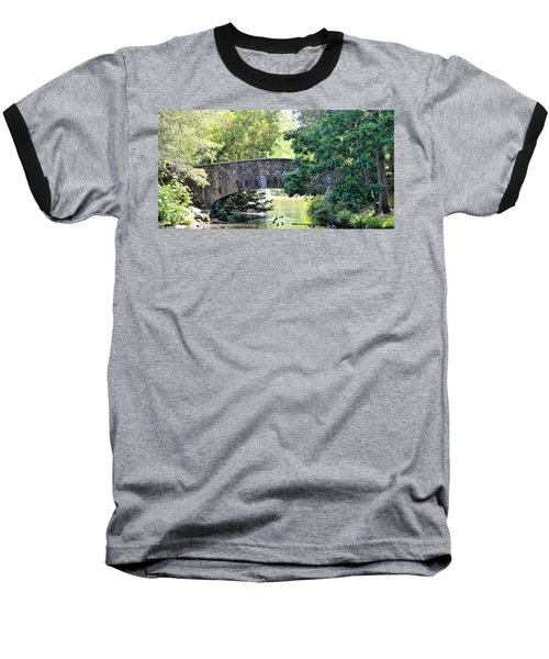 Old Stone Walkway Baseball T-Shirt