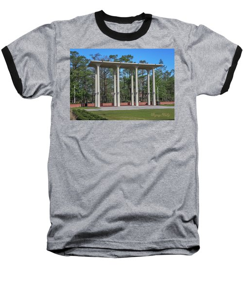Baseball T-Shirt featuring the photograph Old Student Union Arches by Gregory Daley  PPSA