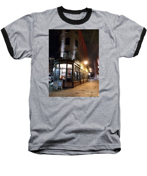 Baseball T-Shirt featuring the photograph Old Tavern Boston by Haleh Mahbod