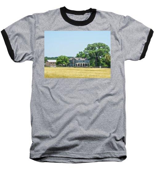 Old Texas Farm House Baseball T-Shirt
