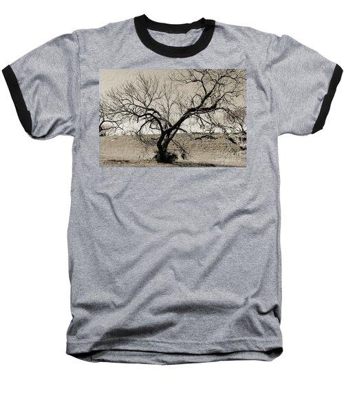 Old Texas Frontier  Baseball T-Shirt