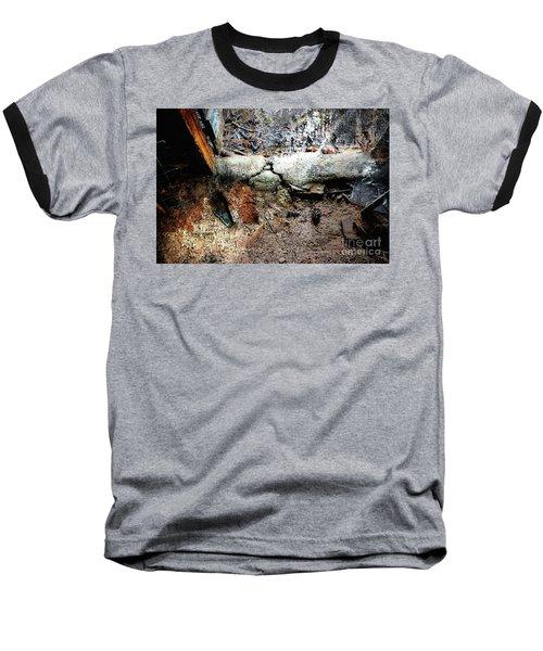 Old Threshold Paint Baseball T-Shirt