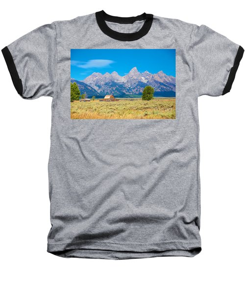Baseball T-Shirt featuring the photograph Old Time Community by Robert Pearson