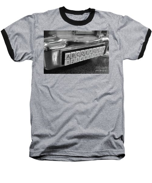 Old Time Rock And Roll Baseball T-Shirt