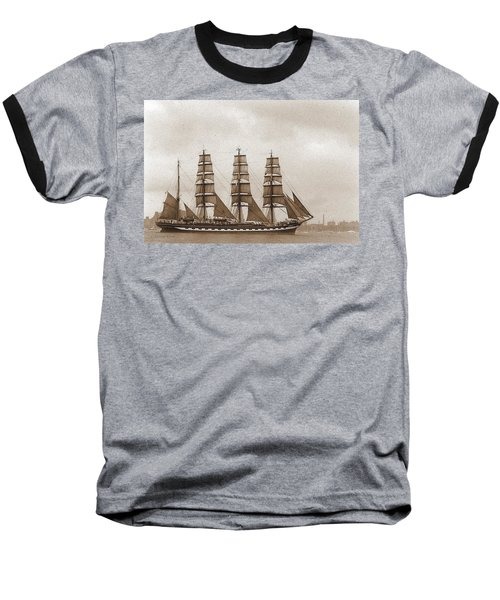 Old Time Schooner Baseball T-Shirt