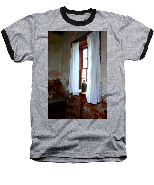 Old Time Window Baseball T-Shirt