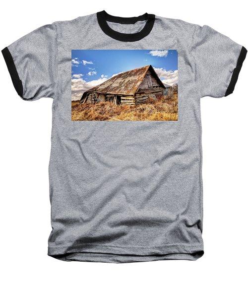 Old Times Baseball T-Shirt by Ryan Crouse