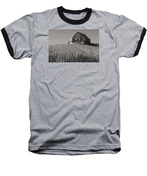 Old Tobacco Barn Baseball T-Shirt