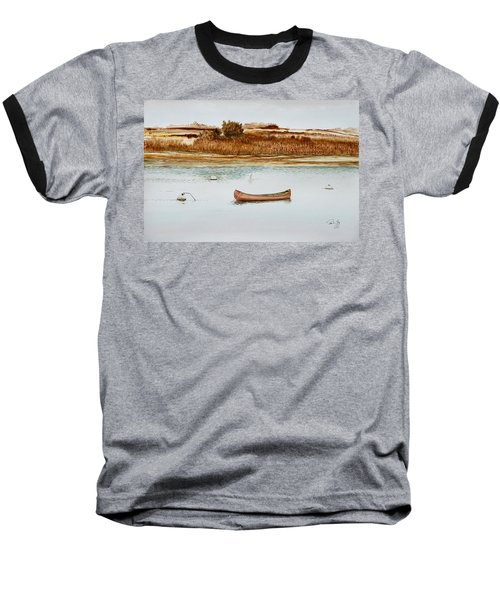 Old Town Canoe Menemsha Mv Baseball T-Shirt