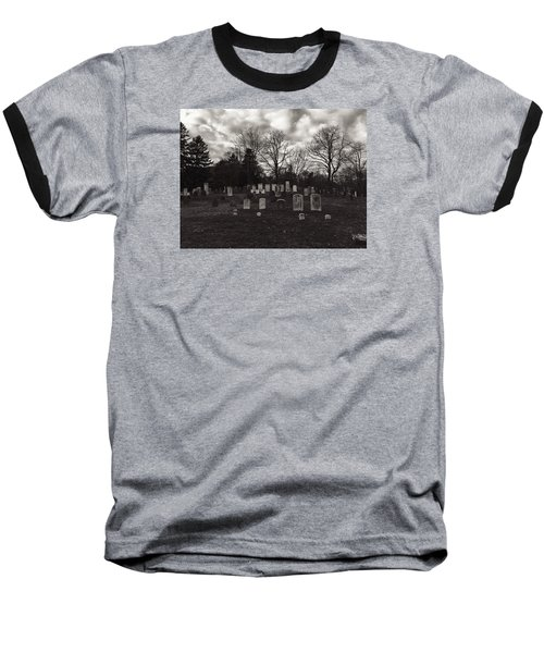 Old Town Cemetery , Sandwich Massachusetts  Baseball T-Shirt