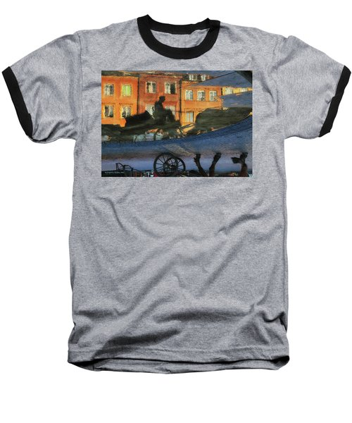 Old Town In Warsaw #12 Baseball T-Shirt