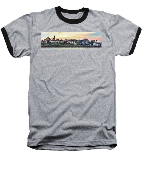 Old Town In Warsaw #16 Baseball T-Shirt