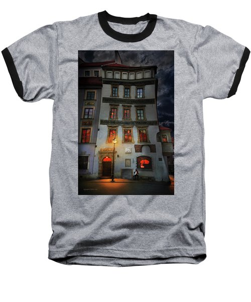 Old Town In Warsaw #17 Baseball T-Shirt