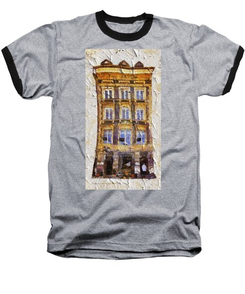 Old Town In Warsaw #21 Baseball T-Shirt