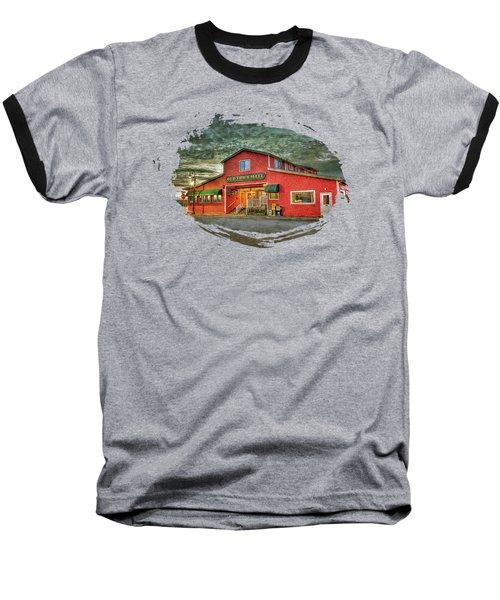 Old Town Mall Bandon Baseball T-Shirt