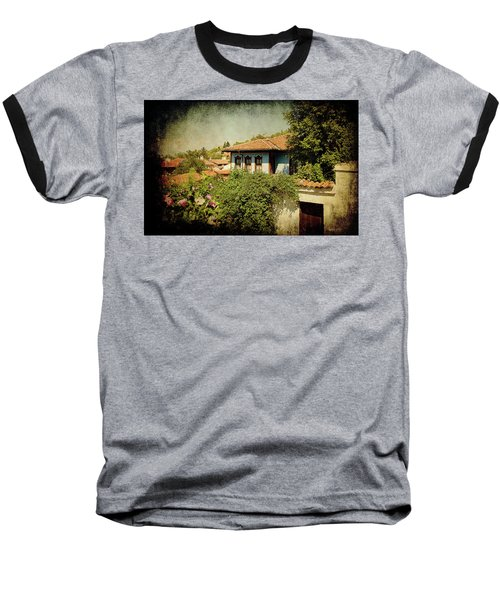 Baseball T-Shirt featuring the photograph Old Town by Milena Ilieva