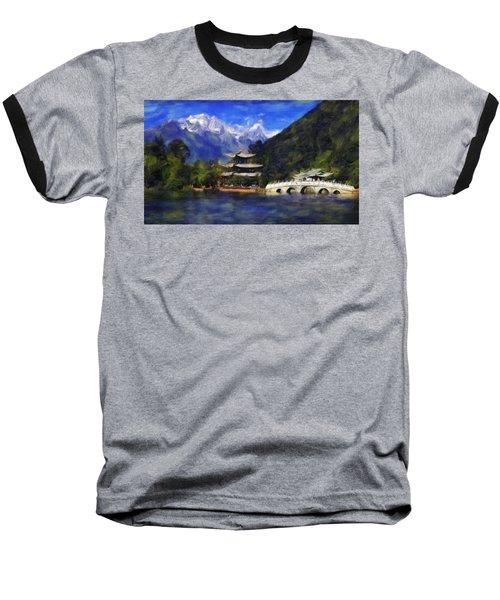 Old Town Of Lijiang Baseball T-Shirt