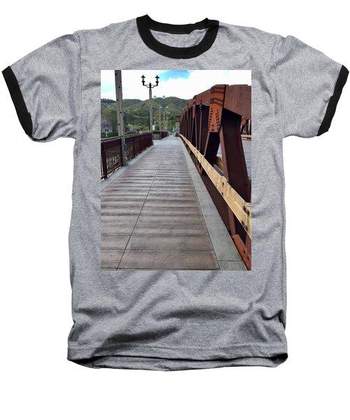Old Town Temecula Bridge Baseball T-Shirt