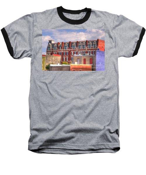 Old Town Wichita Kansas Baseball T-Shirt