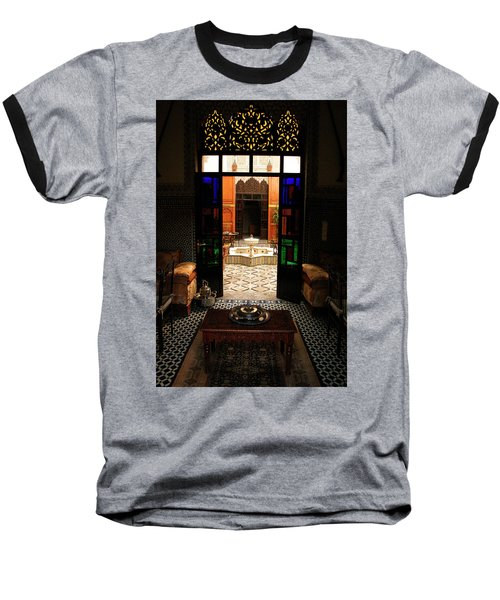 Old Traditional Riad In Fez Baseball T-Shirt