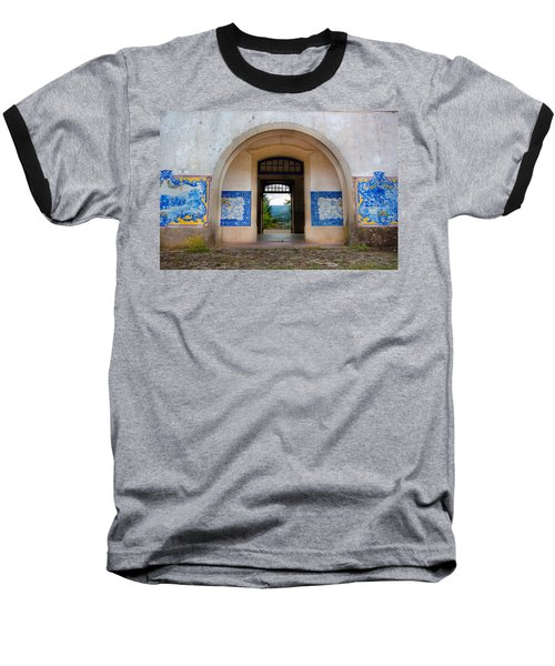Old Train Station Baseball T-Shirt