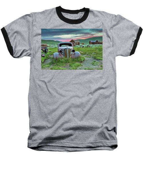 Old Truck In Bodie Baseball T-Shirt