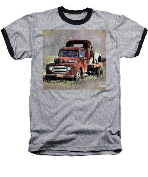 Baseball T-Shirt featuring the photograph Old Trucks by Savannah Gibbs