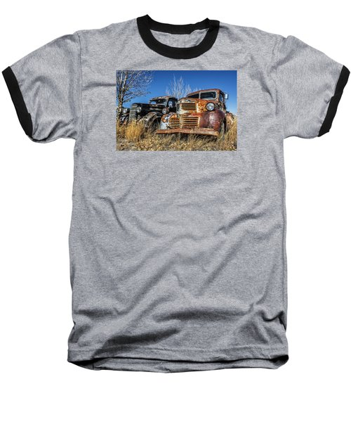 Old Trucks Baseball T-Shirt