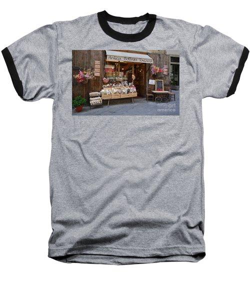Old Tuscan Deli Baseball T-Shirt