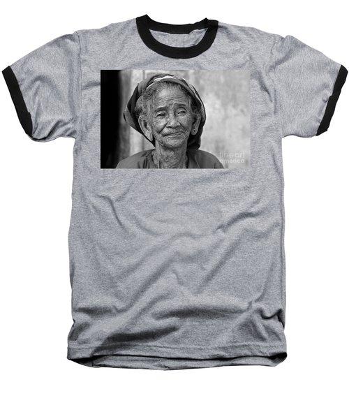 Old Vietnamese Woman Baseball T-Shirt