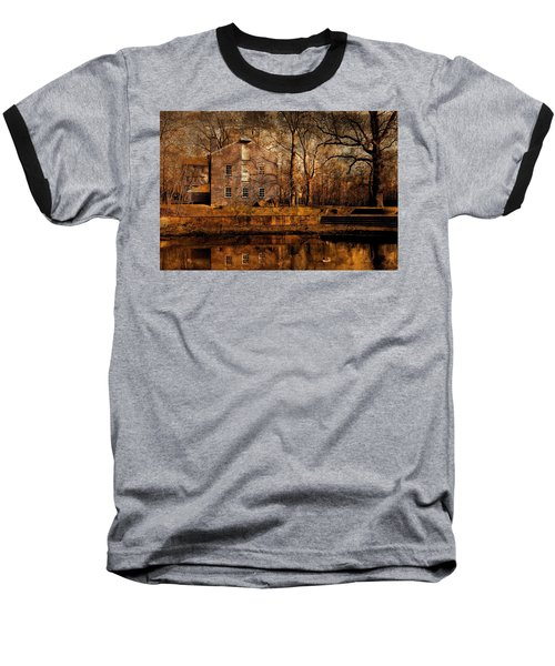 Old Village - Allaire State Park Baseball T-Shirt