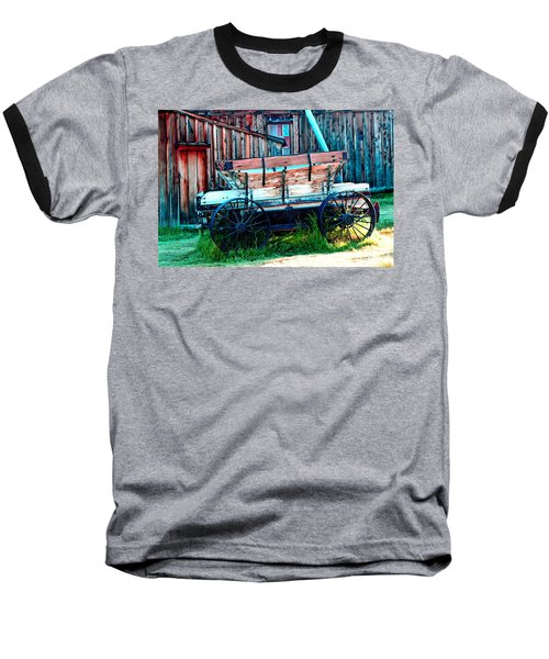 old Wagon In Bodie Baseball T-Shirt
