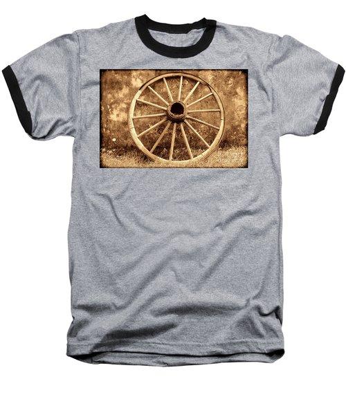 Old Wagon Wheel Baseball T-Shirt